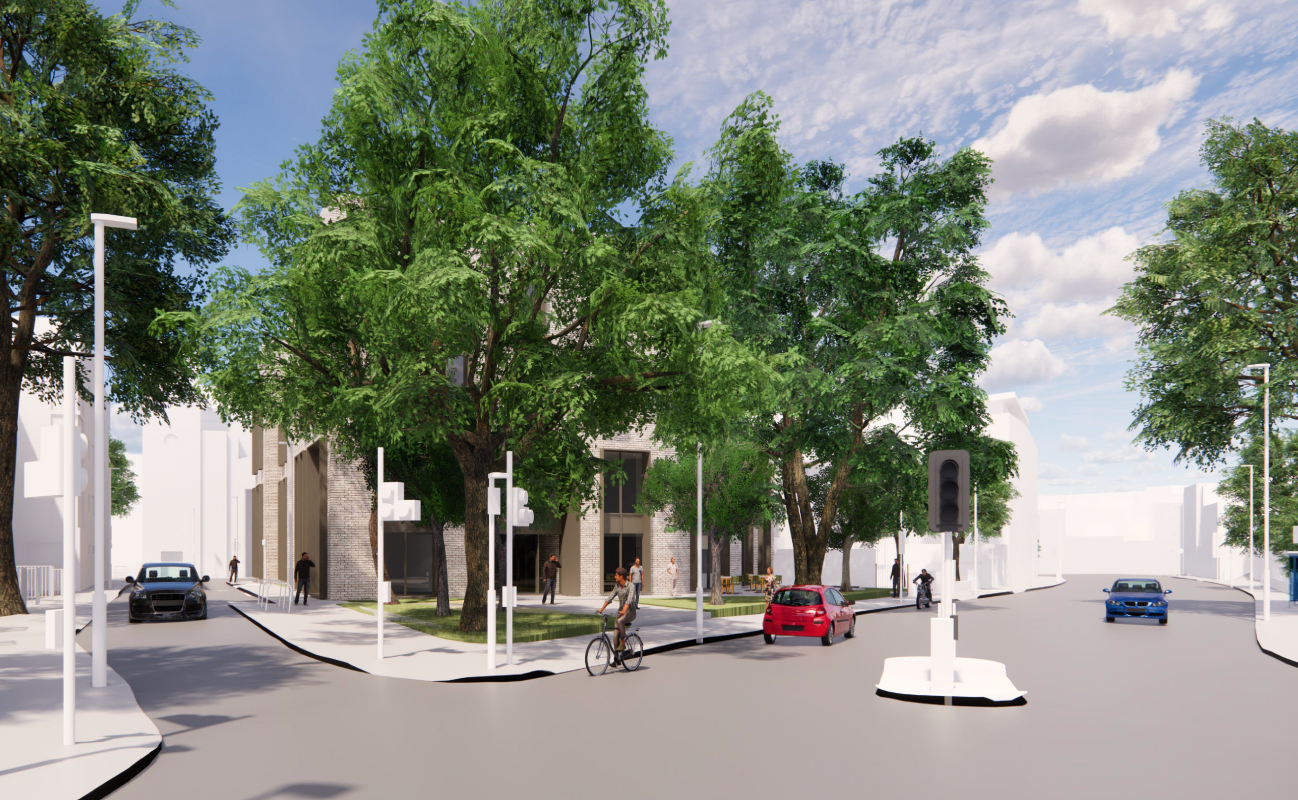 Lowther Road redevelopment artist impressions