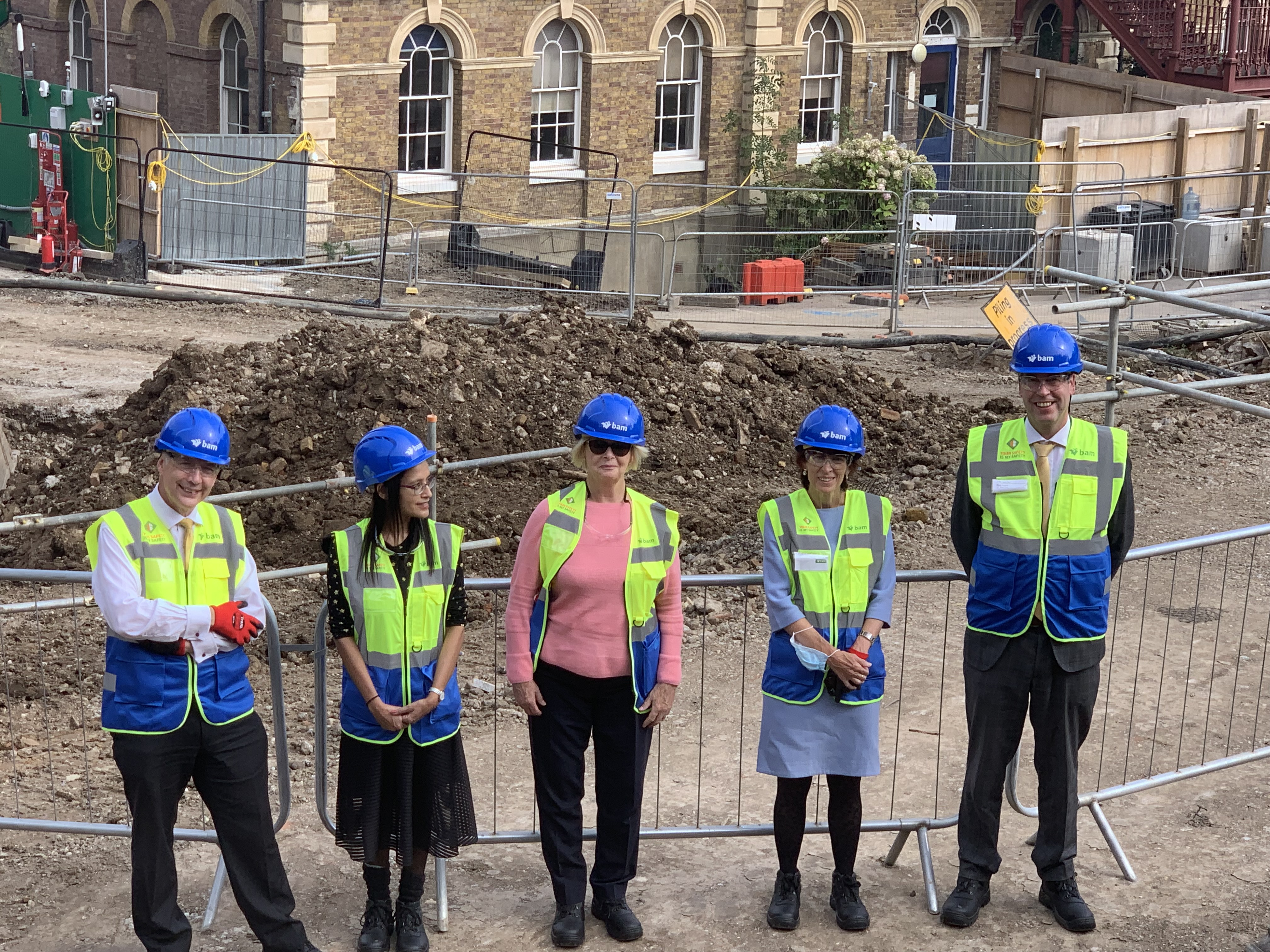 Breaking the ground at Highgate East