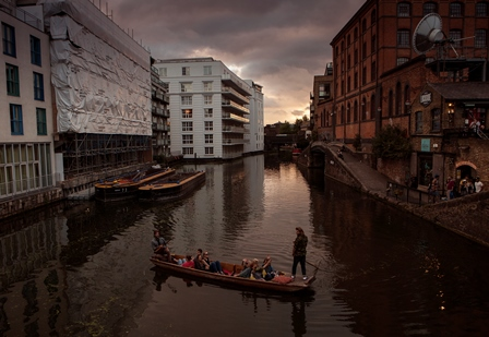 Boating in Camden Canal by Angelo Defensor