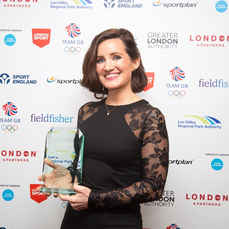 Charlotte Evans, Coach of the Year Award