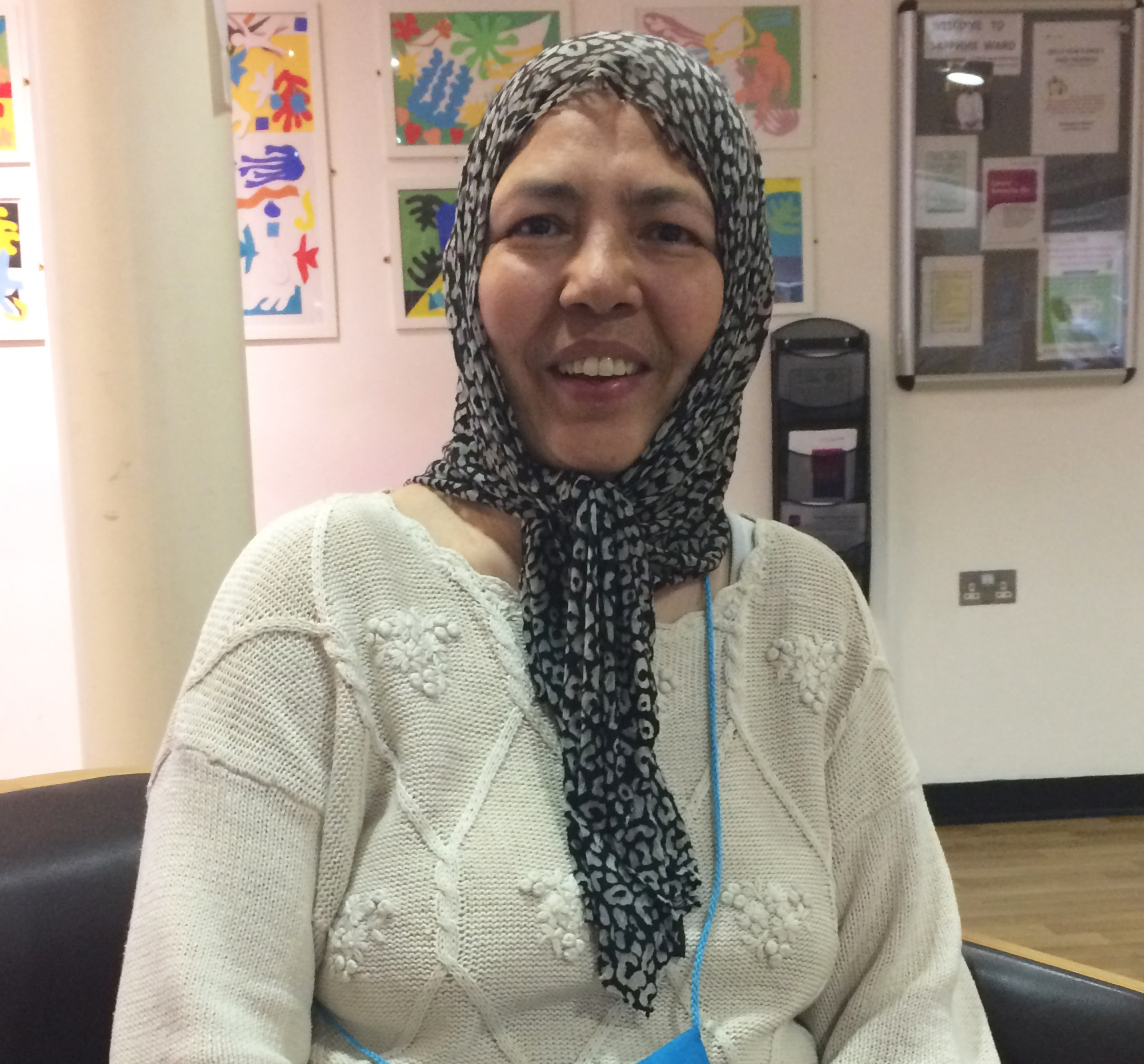 Nezhut Bano, Trolley Services Volunteer