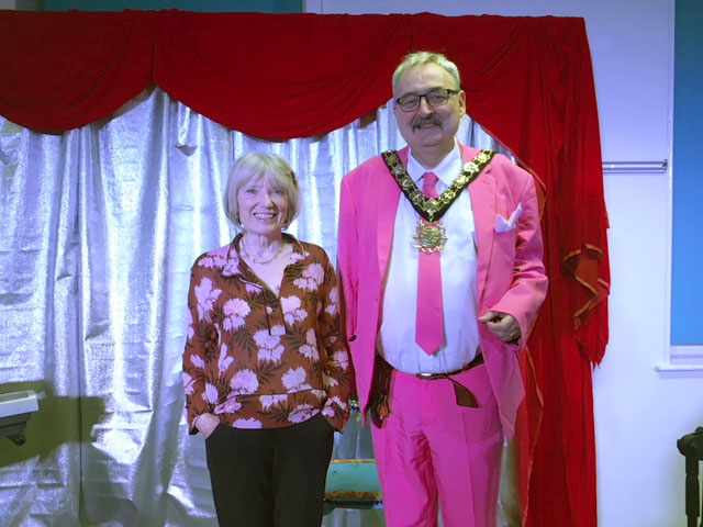 Trust Chair, Leisha Fullick and Mayor of Camden, Richard Cotton